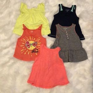 Baby girl bundle size 18-24 month tank tops